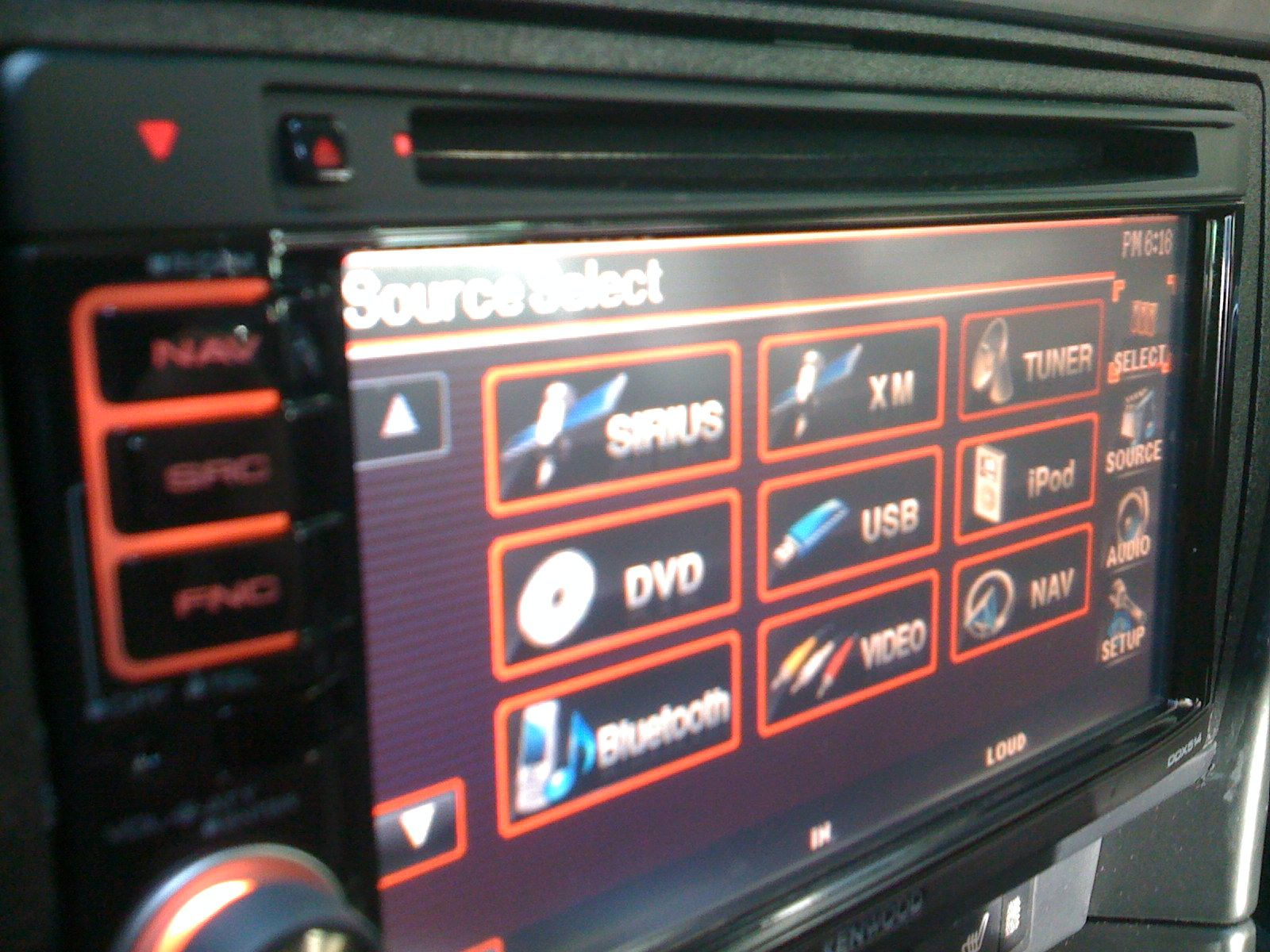 Kenwood DDX-514 installed with FACTORY NAV+UPDATED PICS ... on