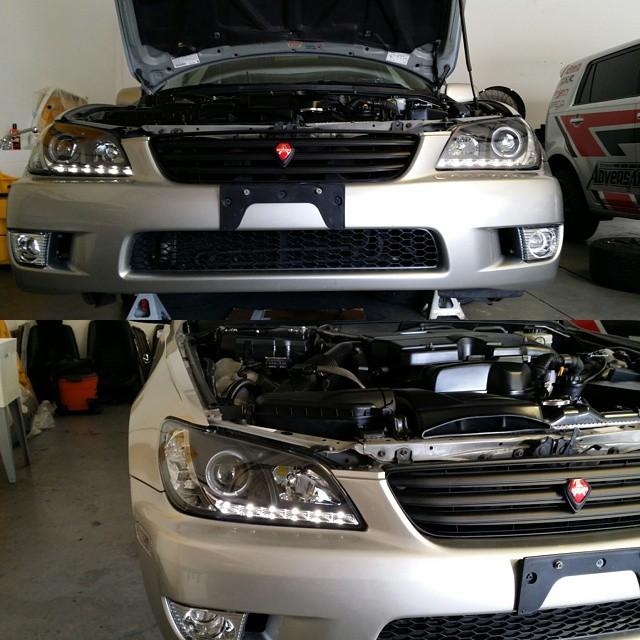 Lexus Is300 Aftermarket Spyder Headlights Retrofit Pojector Lexus Rh My Is Aftermarket  Parts Lexus Is300 Lexus