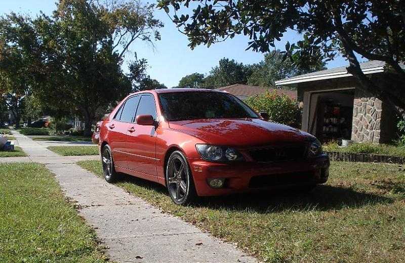 Lexus is300 colors