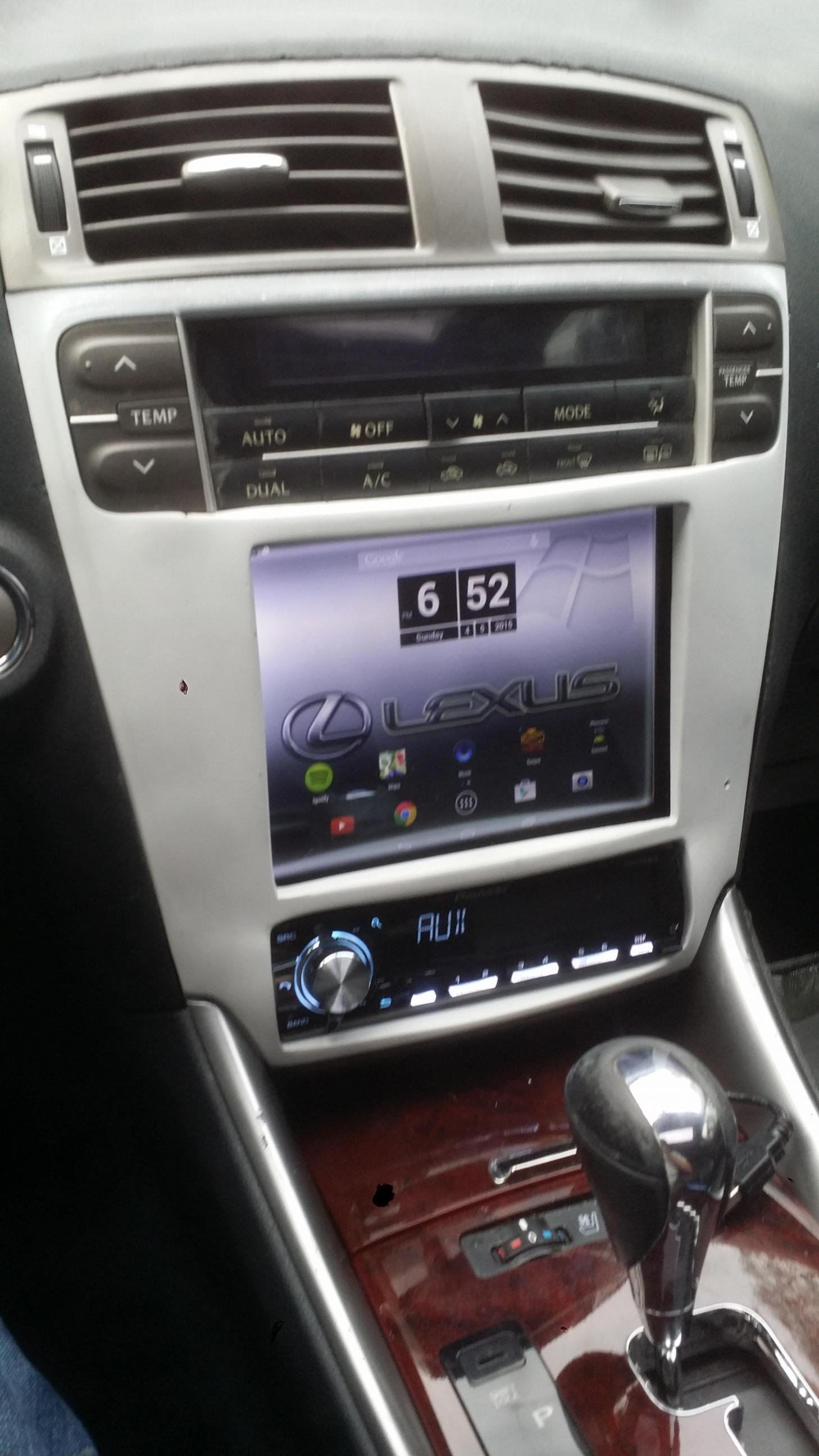 Is250 Radio  Tablet Mod