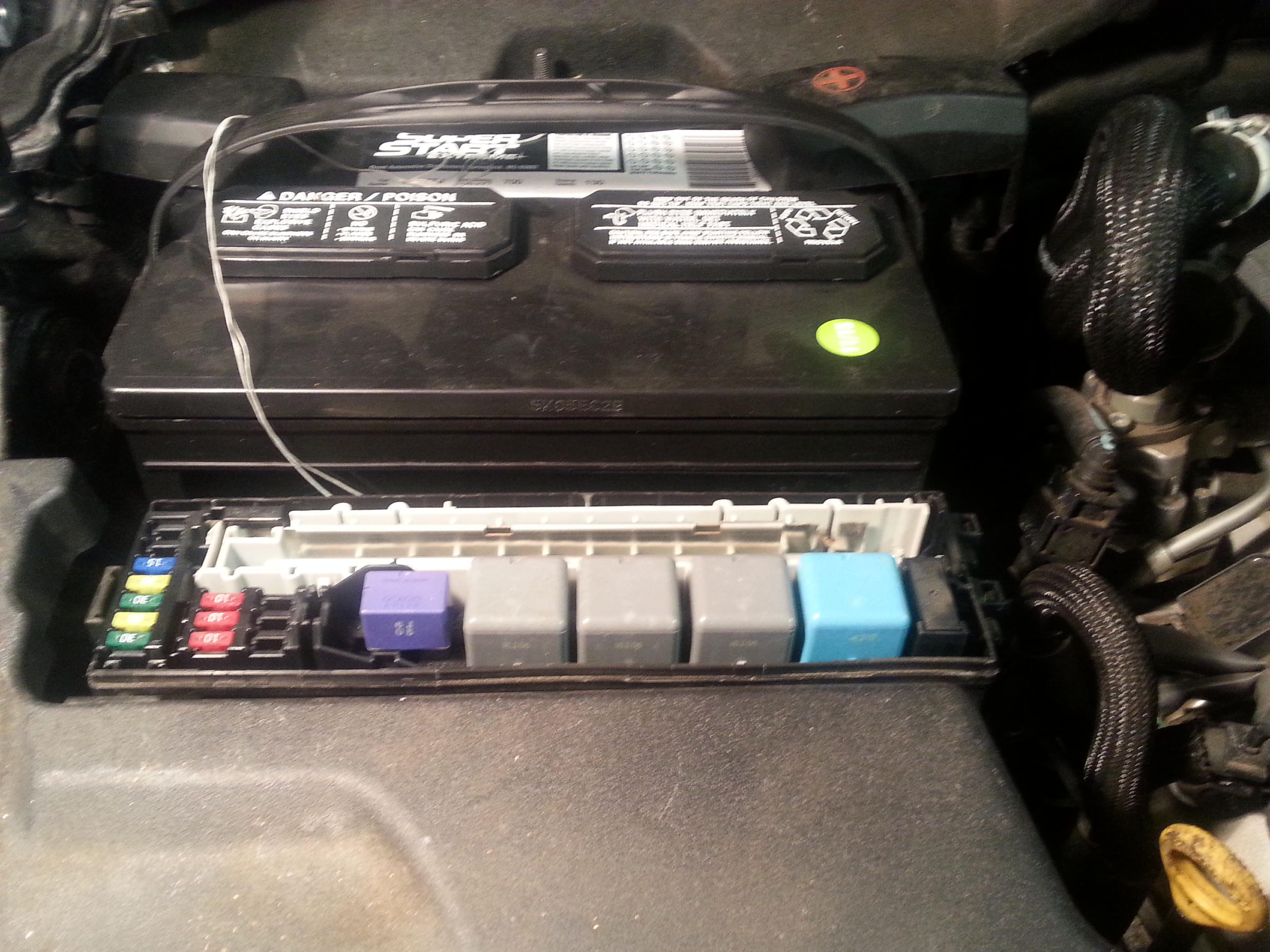 Anyone had a problem starting is250 after new battery replacement Lexus IS250 Front Brake Schematic 2001 Lexus IS300 Fuse Diagram 240SX Fuse Box