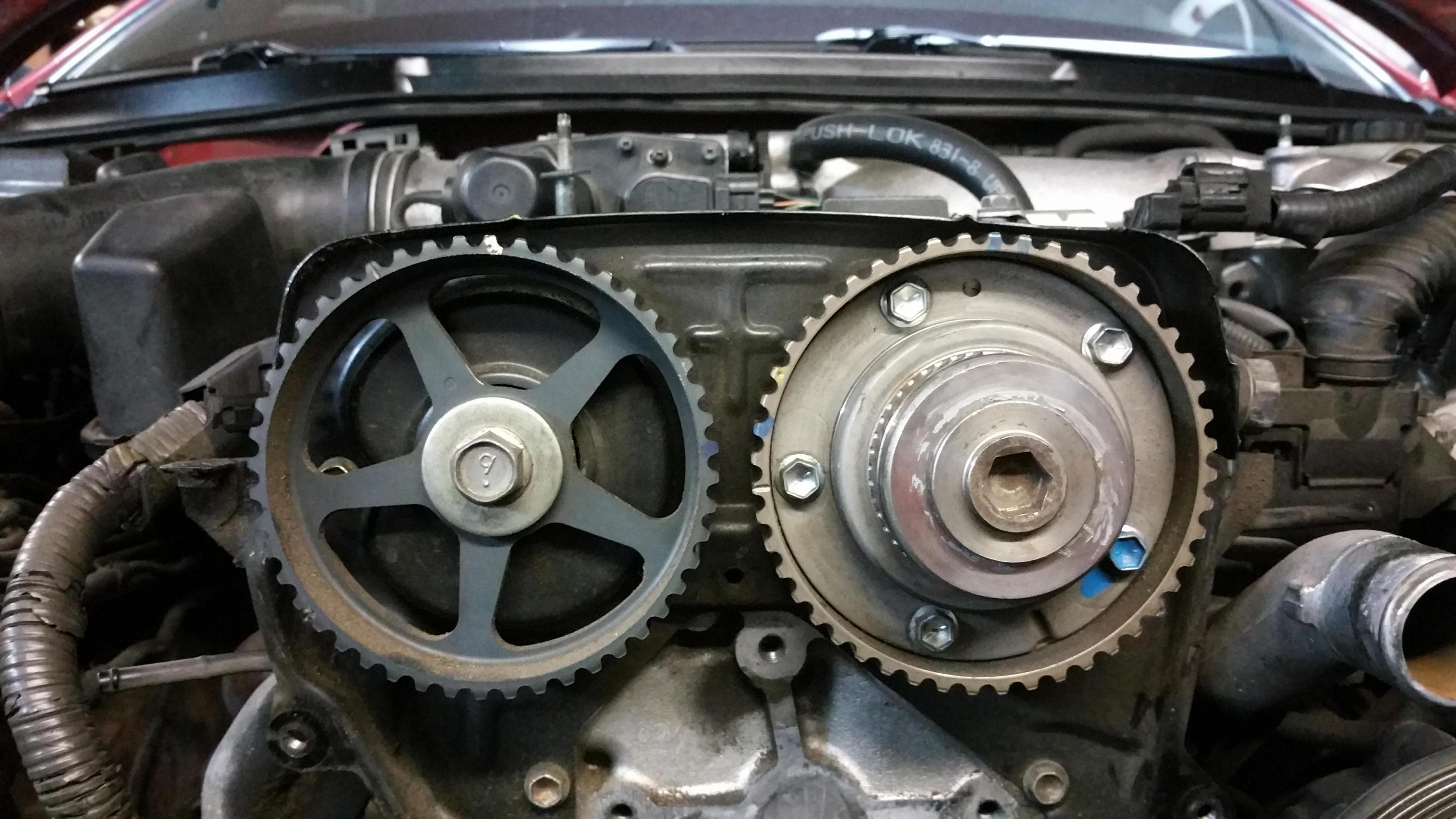 [TVPR_3874]  Did timing belt and car turns over but won't start. | Lexus IS Forum | Lexus Timing Belt |  | Lexus IS Forum