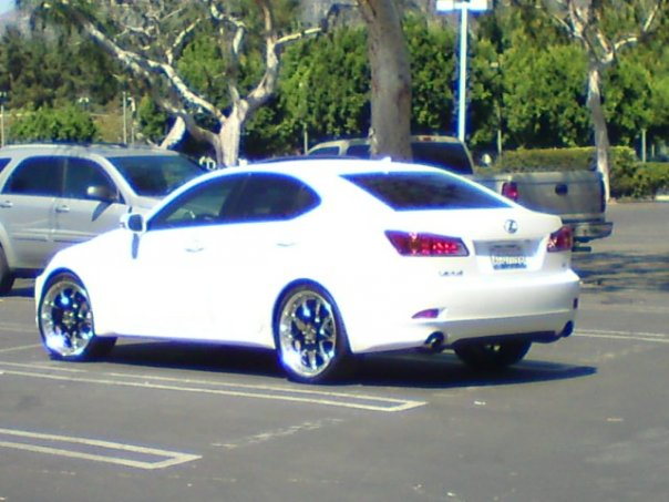 White Cars With White Rims