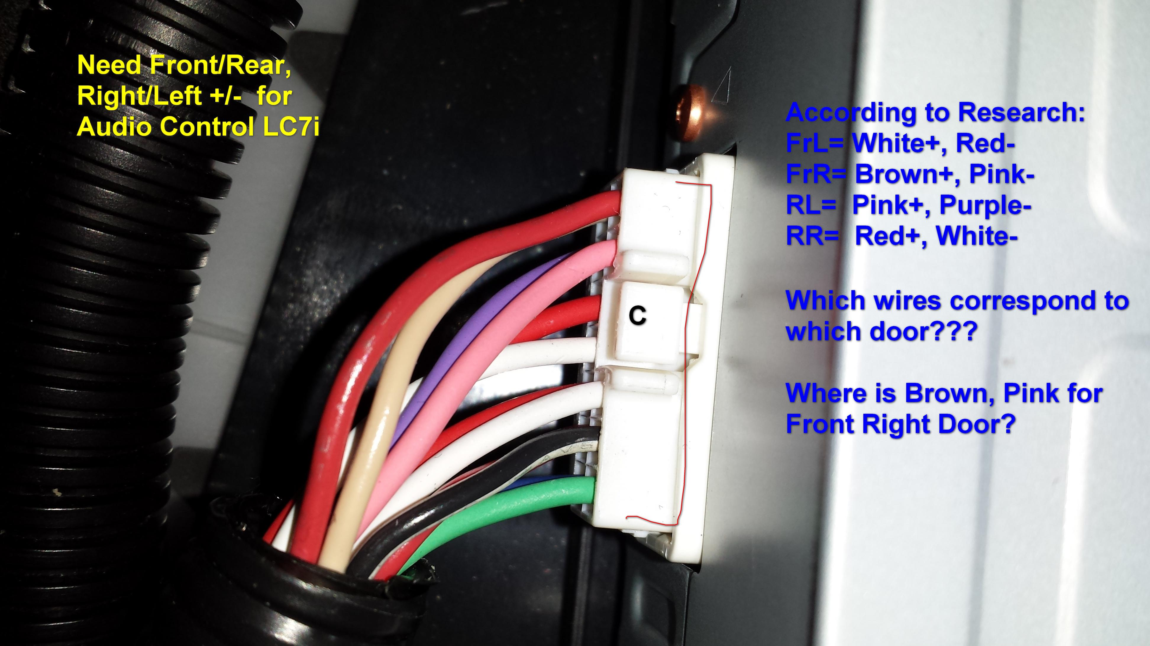 amp wire identification help lexus is forum. Black Bedroom Furniture Sets. Home Design Ideas