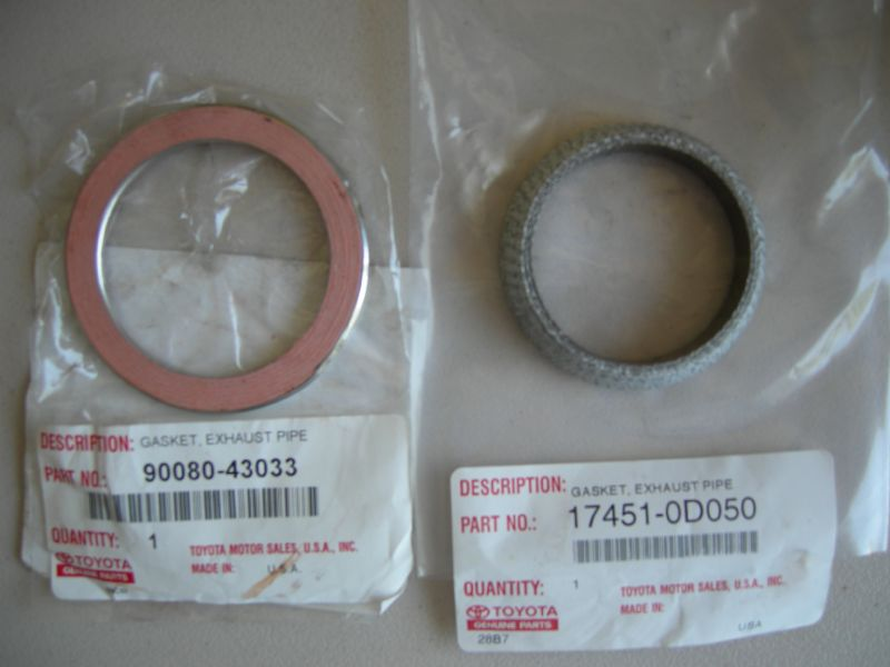 IS300 Gasket between ypipe and exhaust whats it called