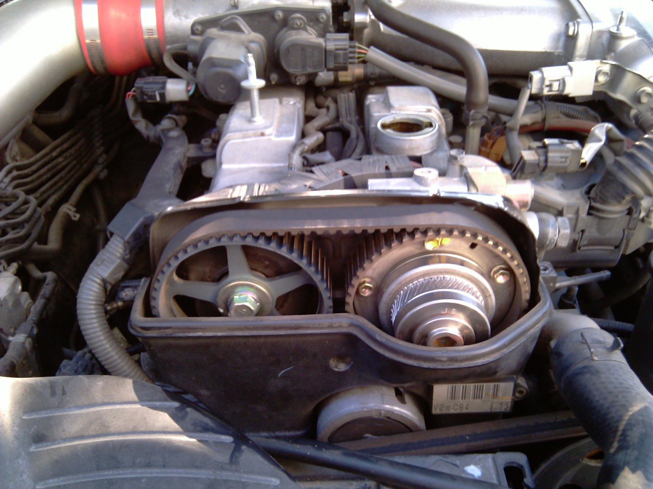 Ford engine knock at startup