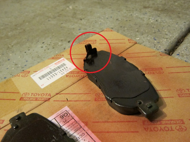 D Front Brake Pad Direction Img