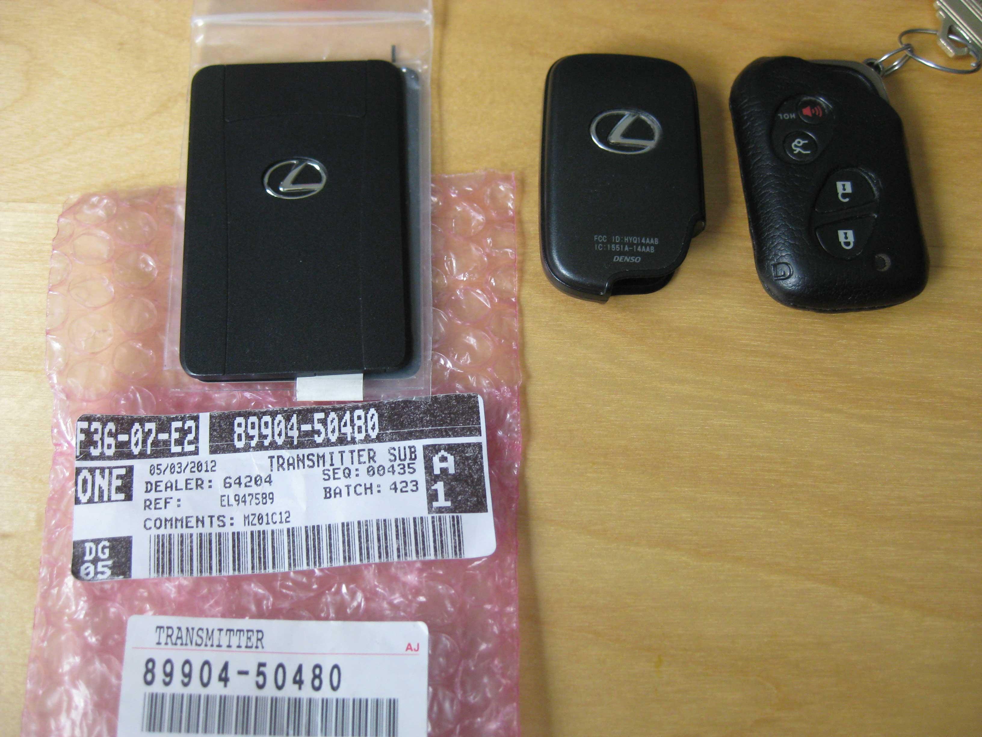 Key Fob Programming IS250 Lexus IS Forum