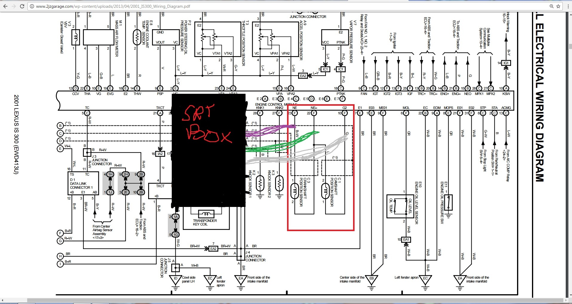 srt signal conditioner wiring help lexus is forum click image for larger version is300 srt box jpg views 68 size