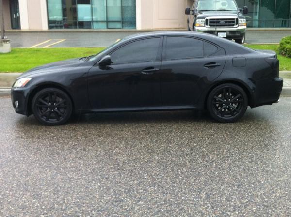 Blacked Out Lexus Is350 Lexus Is Forum