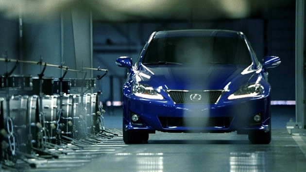 Is the 2011 Lexus IS 350 F Sport the ?uestlove of the automotive world?