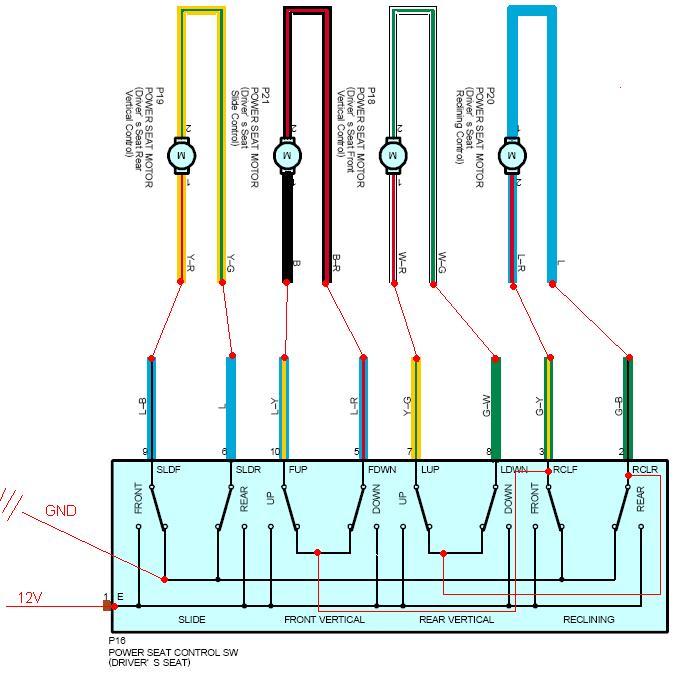 Lexus Seats Diagram - Schematics Wiring Diagrams •