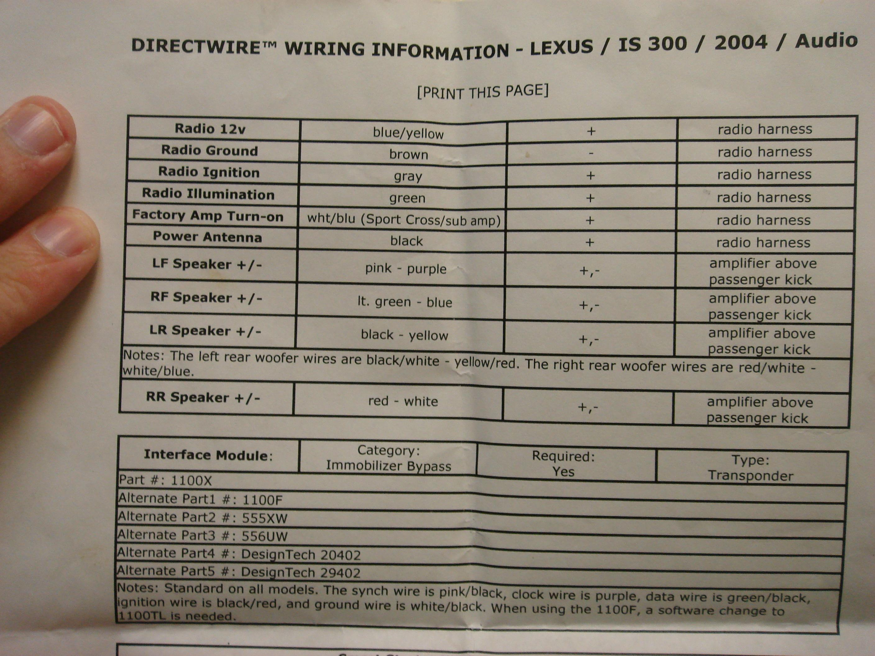Lexus Is200 Wiring Diagram Stereo Libraries For