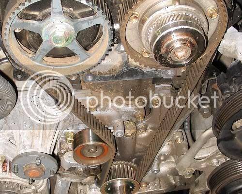 Diy: Timing Belt & Water Pump | Lexus IS Forum