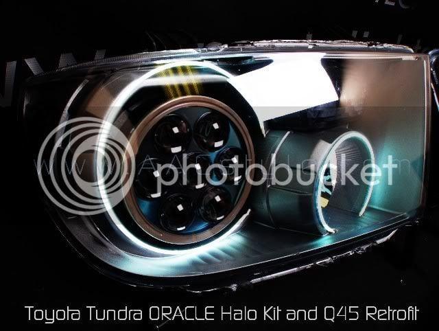 New 2007-08 Toyota Tundra Q45 HID Projector Retrofit   Lexus