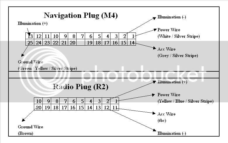 Nav Housing  U0026quot Wiring Diagram U0026quot  Completed