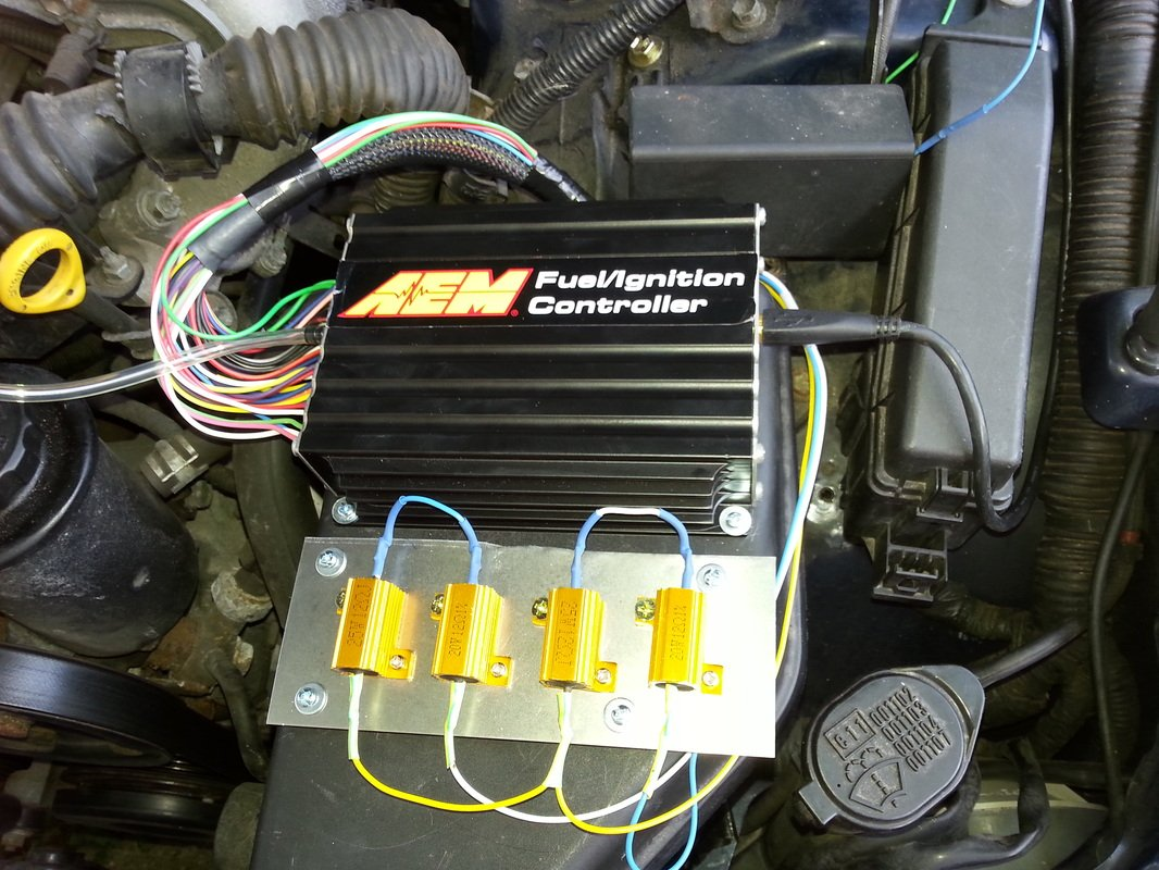 Prep for Turbo - AEM FIC Tuning | Lexus IS Forum Aem Fic Wiring Harness on