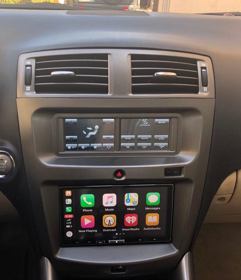 Lexus Apple Carplay >> Review Of My Lexus Is Scosche Dash Replacement Itcls01b