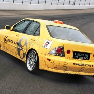Supercharged Pace Car
